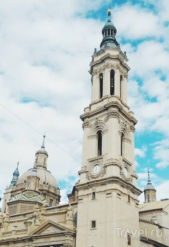 В городе Сарагоса, Испания / Фото из Испании