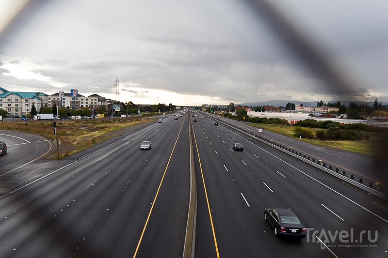 101 первая трасса в Калифорнии, США / Фото из США