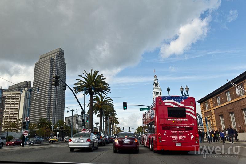 В городе Сан-Франциско, США / Фото из США