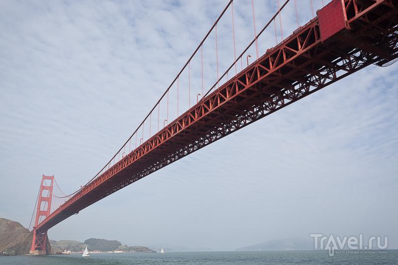Мост Golden Gate в Калифорнии, США / Фото из США