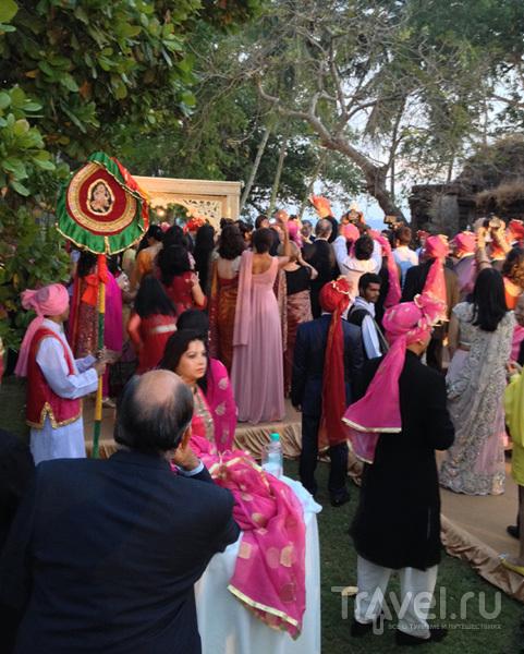 Традиционная индийская свадьба в Гоа / Индия