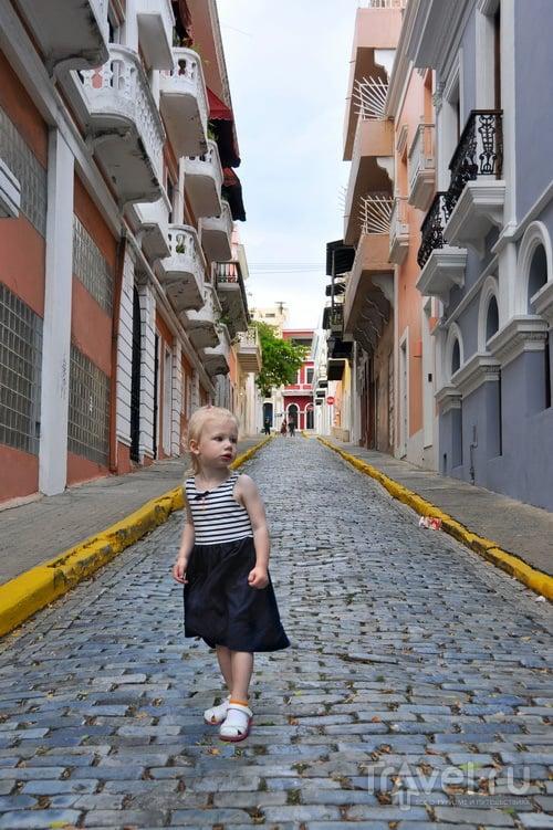 В городе Сан-Хуан, Пуэрто-Рико / Фото из Пуэрто-Рико