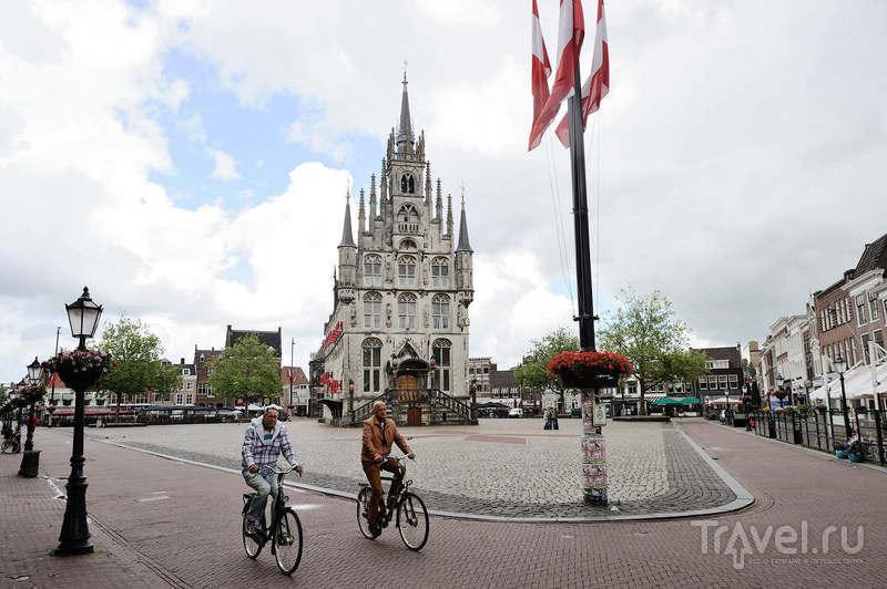 В городе Гауда, Нидерланды / Фото из Нидерландов