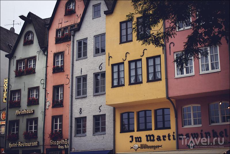 В районе Fischmarkt в Кёльне, Германия / Фото из Германии