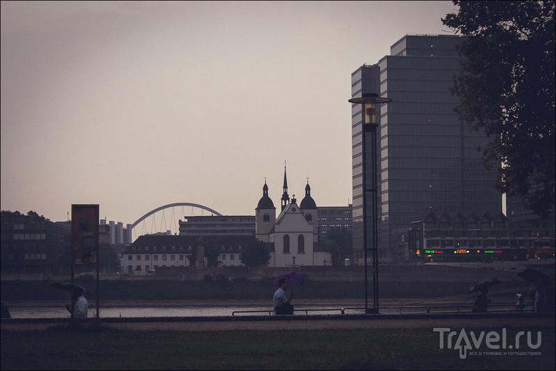 Кёльн без собора / Фото из Германии
