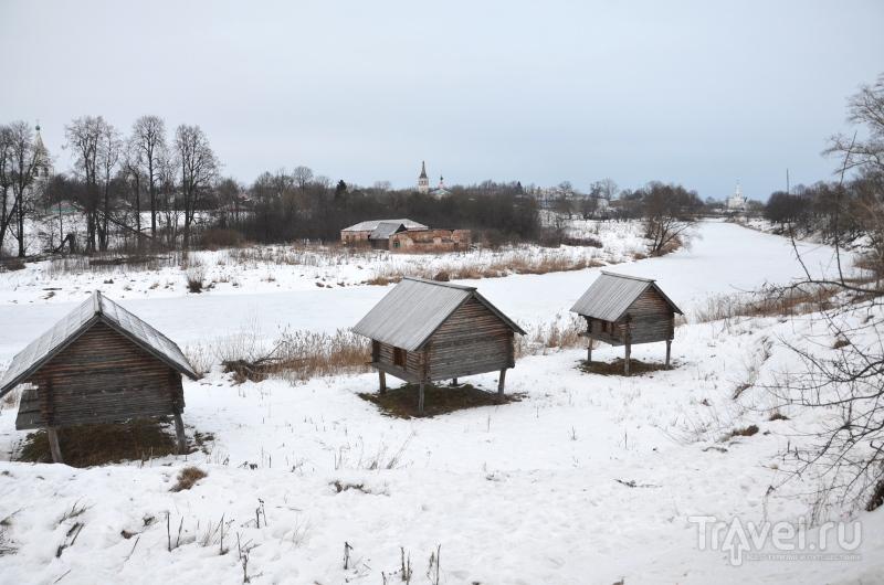 Глядя на суздальские постройки, легко забыть, в каком веке находишься / Фото из России