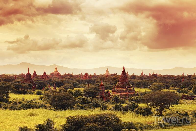 Мьянма: страна, застывшая в золоте. Баган / Фото из Мьянмы