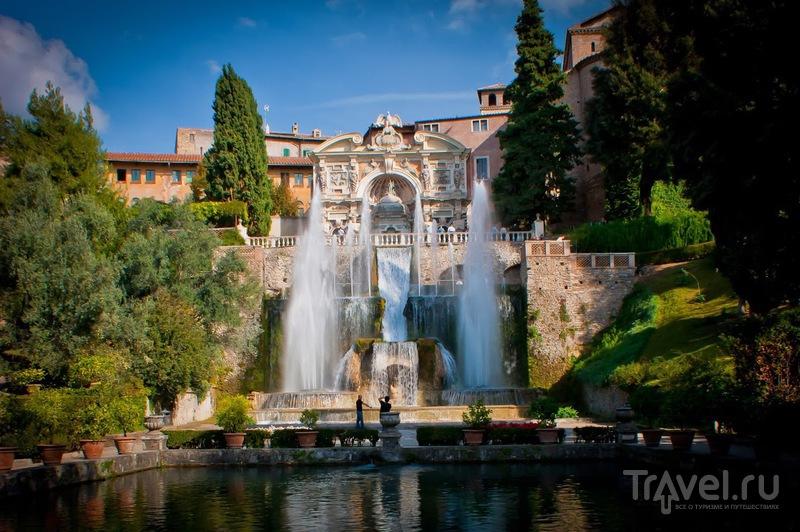 Вилла д'Эсте в Тиволи, Италия / Фото из Италии