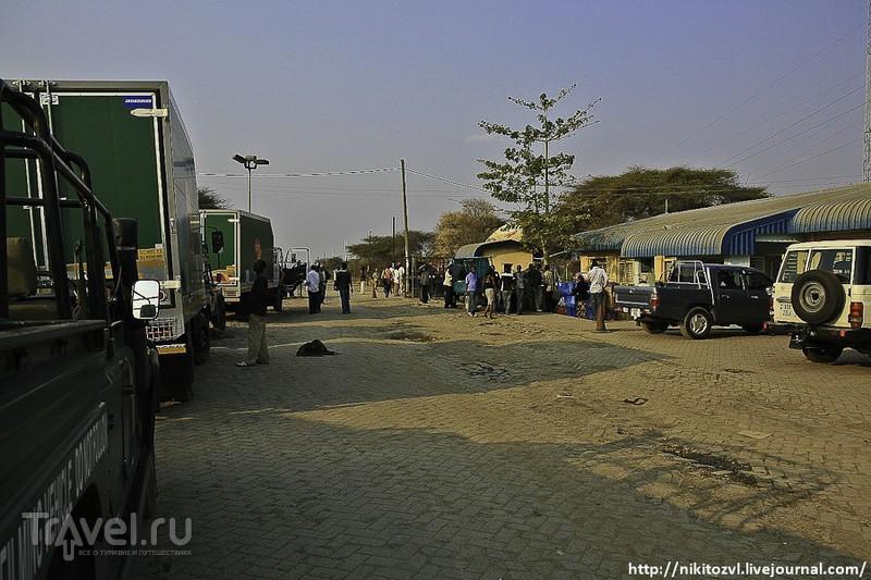 На границе Замбии и Ботсваны / Фото из Замбии