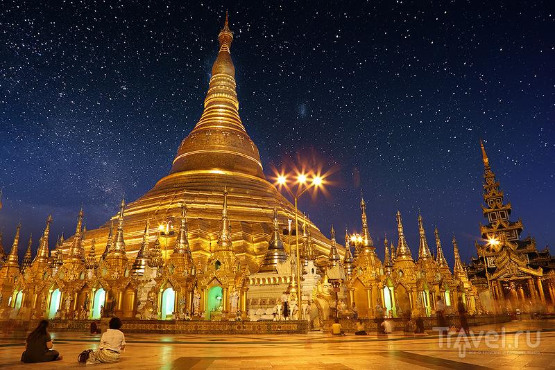 В городе Янгон, Мьянма / Фото из Мьянмы