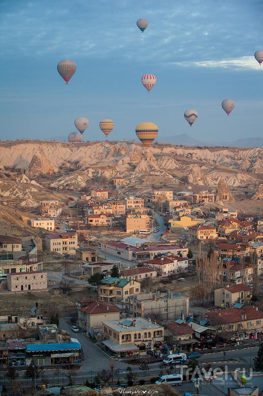 Каппадокия: Рассвет на месте закатов и первое знакомство с воздушными шарами / Фото из Турции