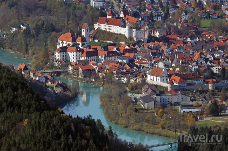 Город Фюссен, Германия / Фото из Германии