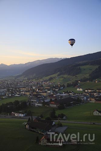 Пряники в Аппенцелле и рассвет с высоты птичьего полета / Швейцария