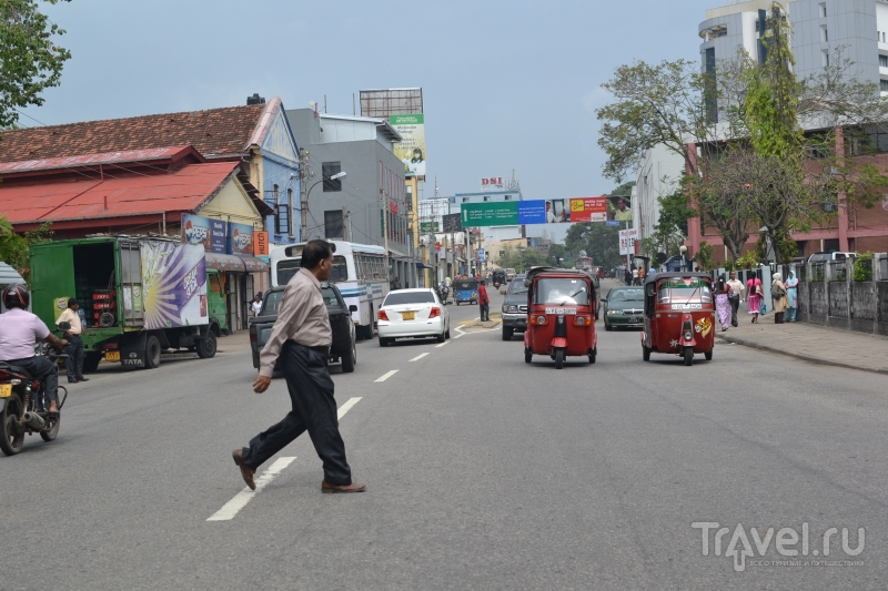 В городе Коломбо, Шри-Ланка / Шри-Ланка