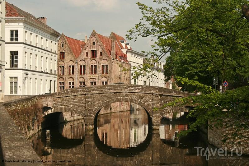В городе Брюгге, Бельгия / Фото из Бельгии