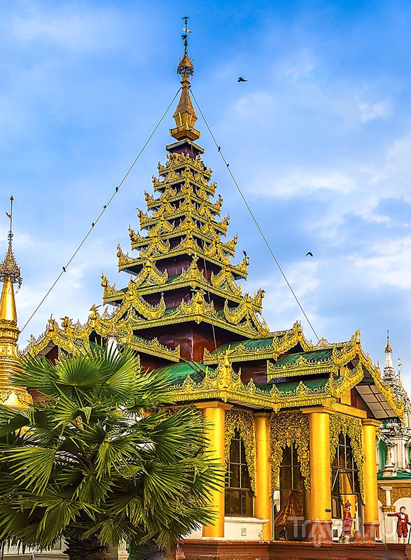 Пагода Шведагон / Фото из Мьянмы