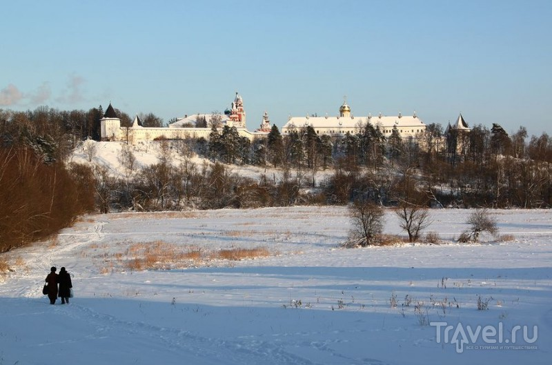 Саввино-Сторожевский монастырь в Звенигороде, Россия / Фото из России