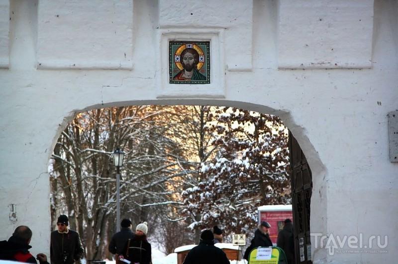 Саввино-Сторожевский монастырь в январе / Фото из России