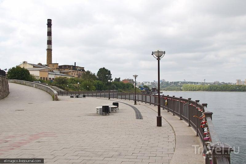 Набережная Ангары в Иркутске, Россия / Фото из России