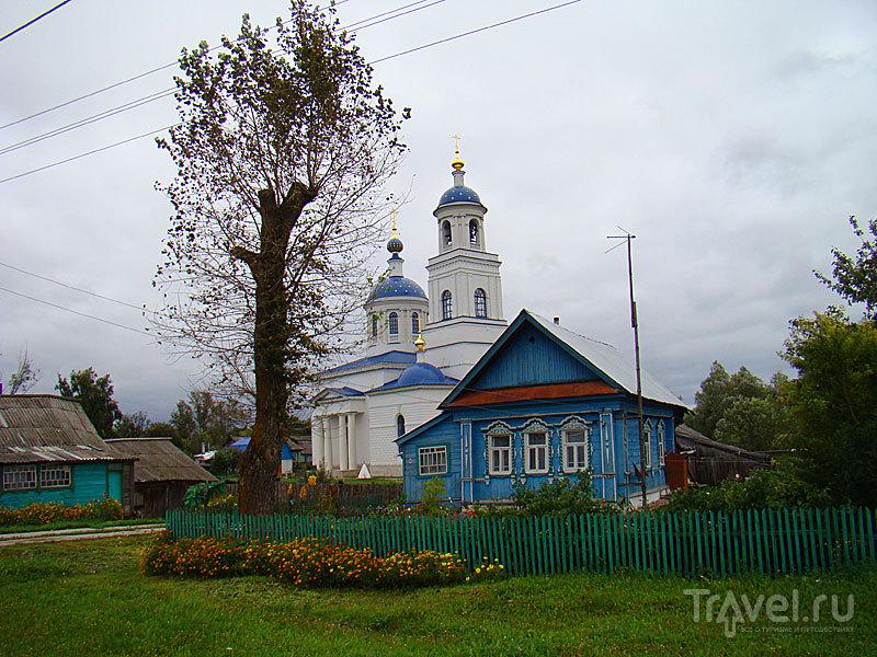 Успенская церковь в Суворово, Россия / Фото из России