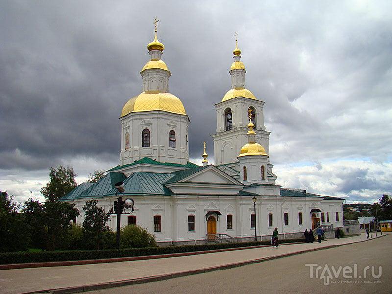 Казанская церковь в Дивеево, Россия / Фото из России