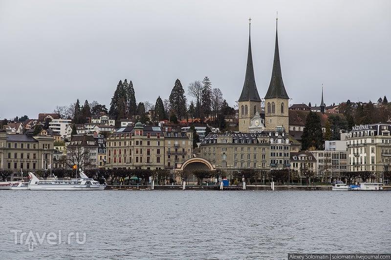 В городе Люцерн, Швейцария в Люцерне, Швейцария / Фото из Швейцарии