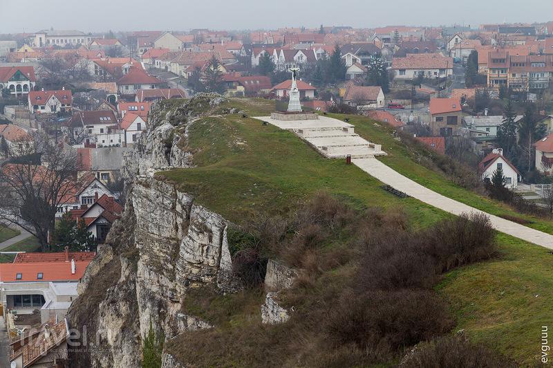 Холм св. Бенедикта в Веспреме, Венгрия / Фото из Венгрии