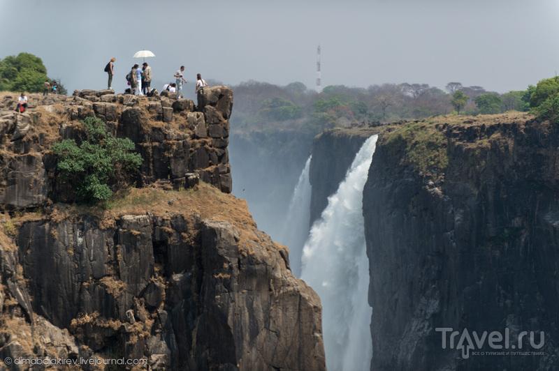 Водопад Виктория, Замбия / Фото из Замбии