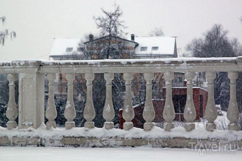 Остафьево, или... о красоте снегопада / Фото из России