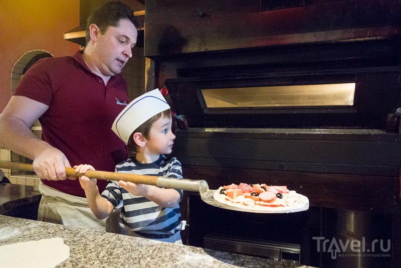 Сам себе пиццайоло, или кулинарный мастер-класс для самых маленьких / Швейцария
