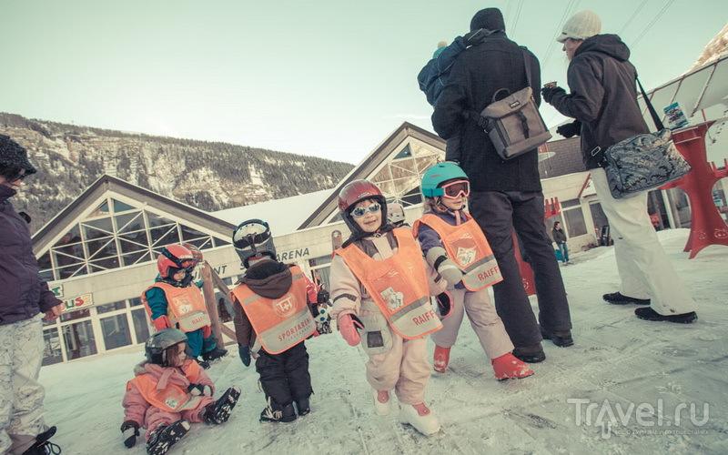 Младшая группа Лейкербада, или один день с Москитами / Швейцария