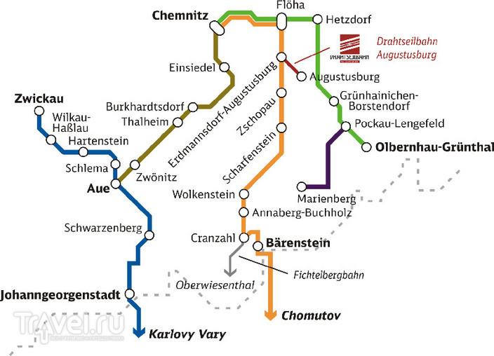 Сказочная Саксония. Чопау / Германия