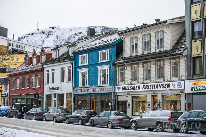 Зима за Полярным Кругом / Фото из Норвегии