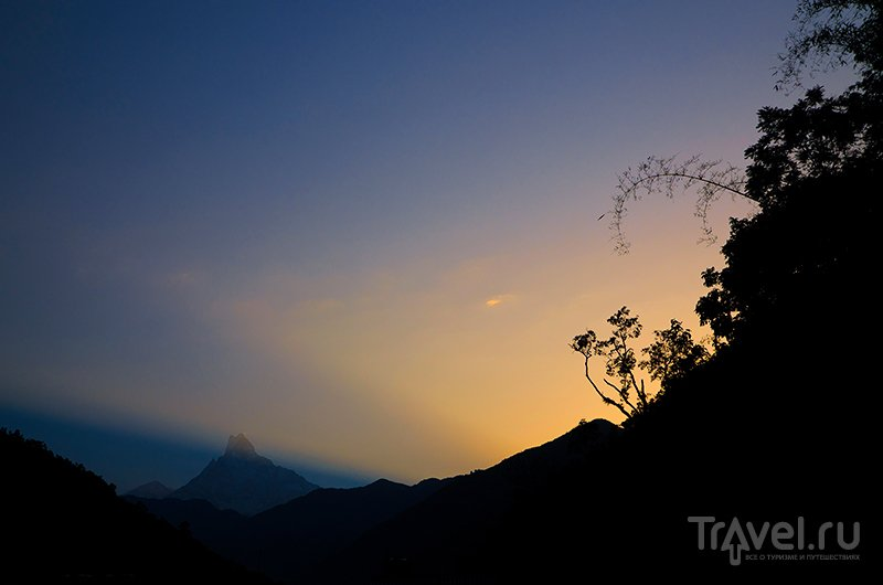 Суммарный подъем / Фото из Непала