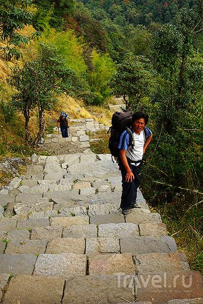 Bamboo - Dovanю Подъем на 241 м / Фото из Непала