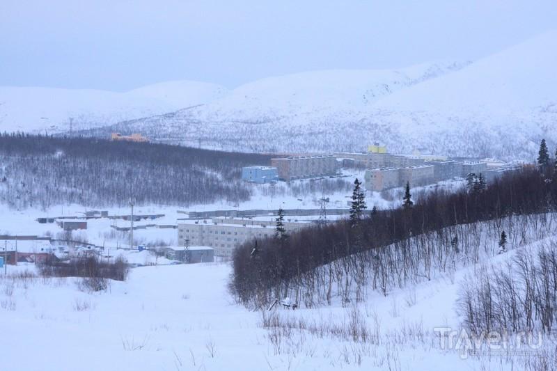 Кировск - город среди гор / Фото из России
