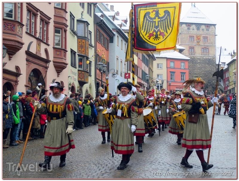 Масленичный карнавал в Ротвайле / Германия