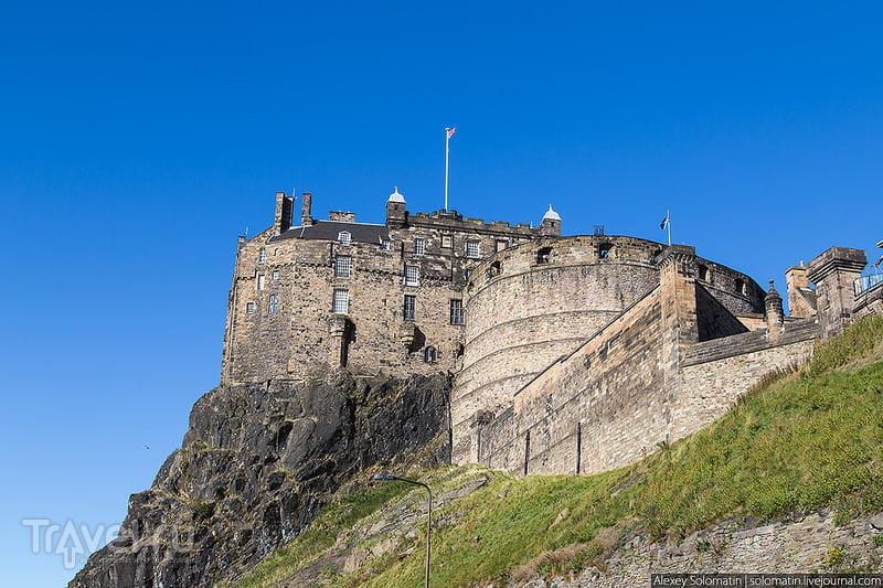 Эдинбургский замок. Шотландия. Великобритания / Фото из Великобритании