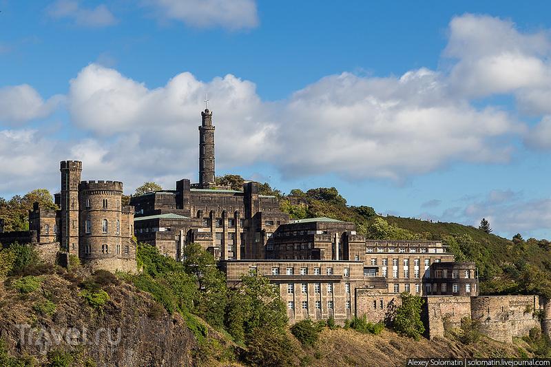 Монумент Адмиралу Нельсону. Эдинбург. Шотландия / Фото из Великобритании