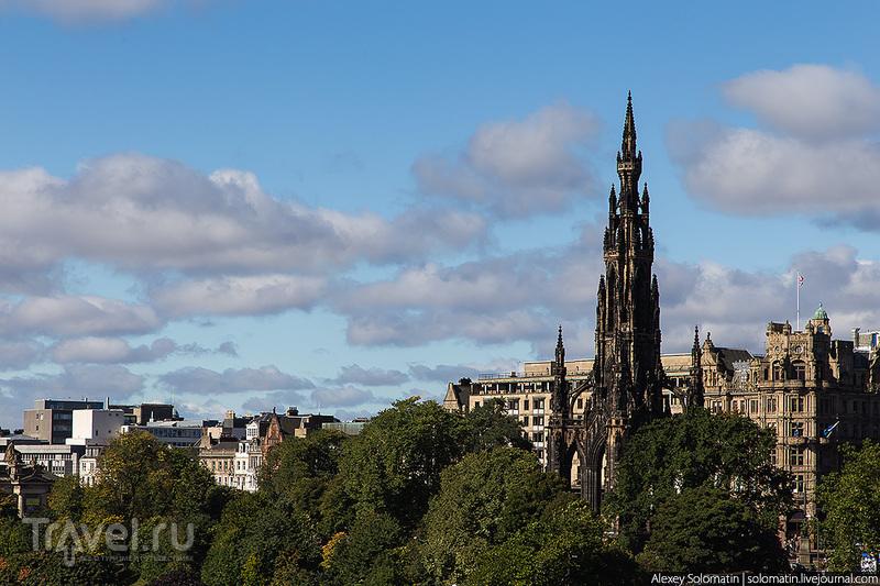 Эдинбург. Шотландия / Фото из Великобритании
