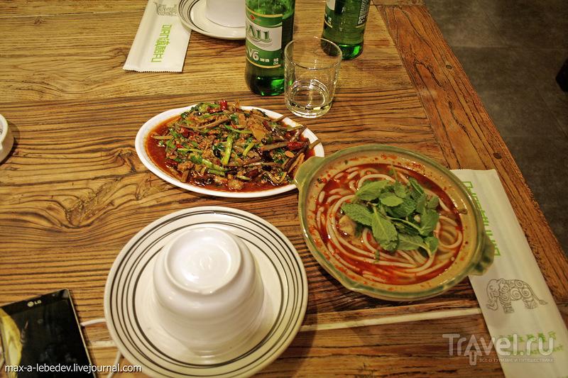 Китайская еда. Пекин / Китай