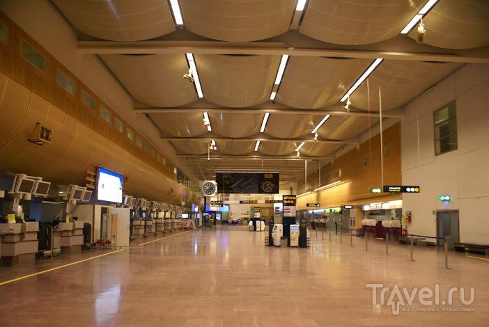 Стокгольм. Аэропорт / Швеция