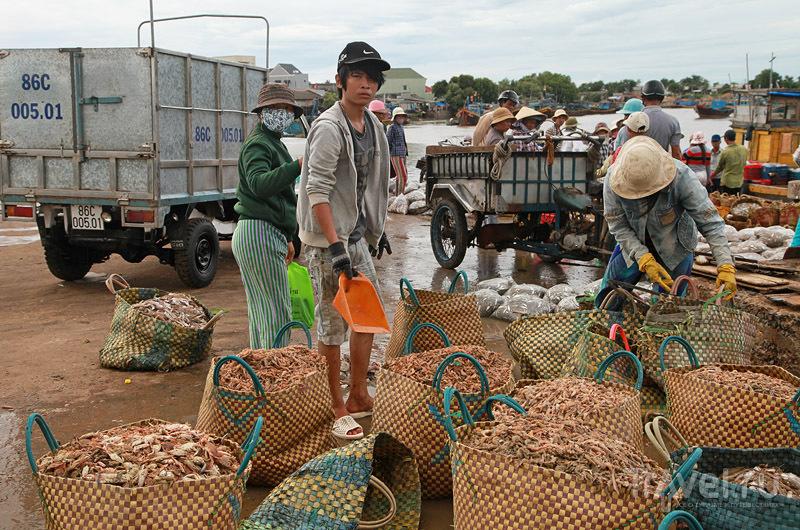 Фантхьет: супермаркет, рынок / Вьетнам