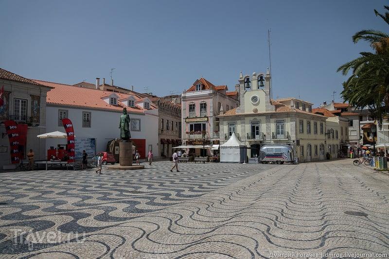 Памятник королю Педру I, Кашкайш / Фото из Португалии