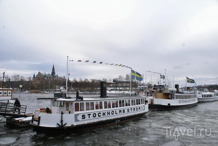 Стокгольм. Общественный транспорт / Швеция