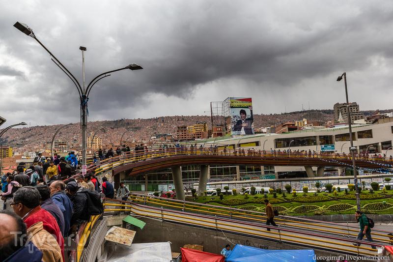 Вся крутизна Ла-Паса, Боливия / Фото из Боливии