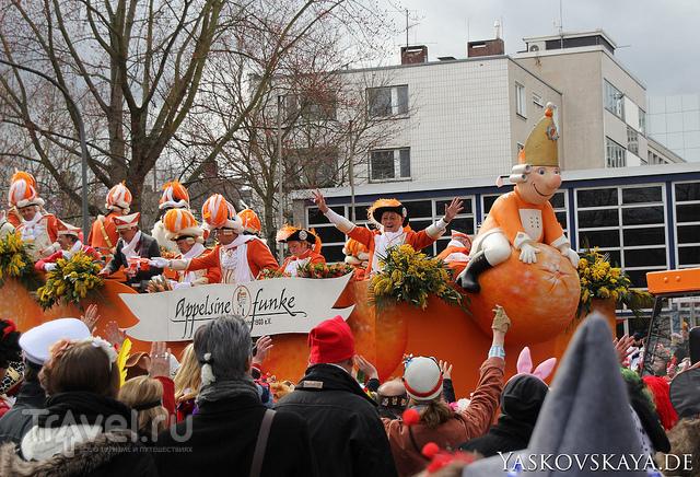 Кельнский карнавал-2014: Rosenmontagszug / Германия