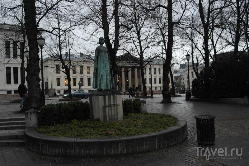 Осло, Норвегия - из отеля в центр города / Норвегия