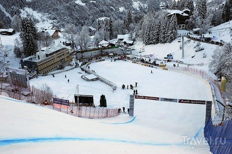 До финиша трассы добираются не все участники / Швейцария