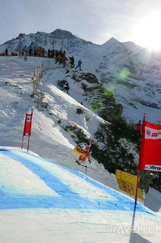 Длина спуска составляет 4260 метров / Швейцария